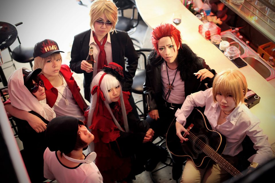Project - HOMRA ...K Project Anna Cosplay