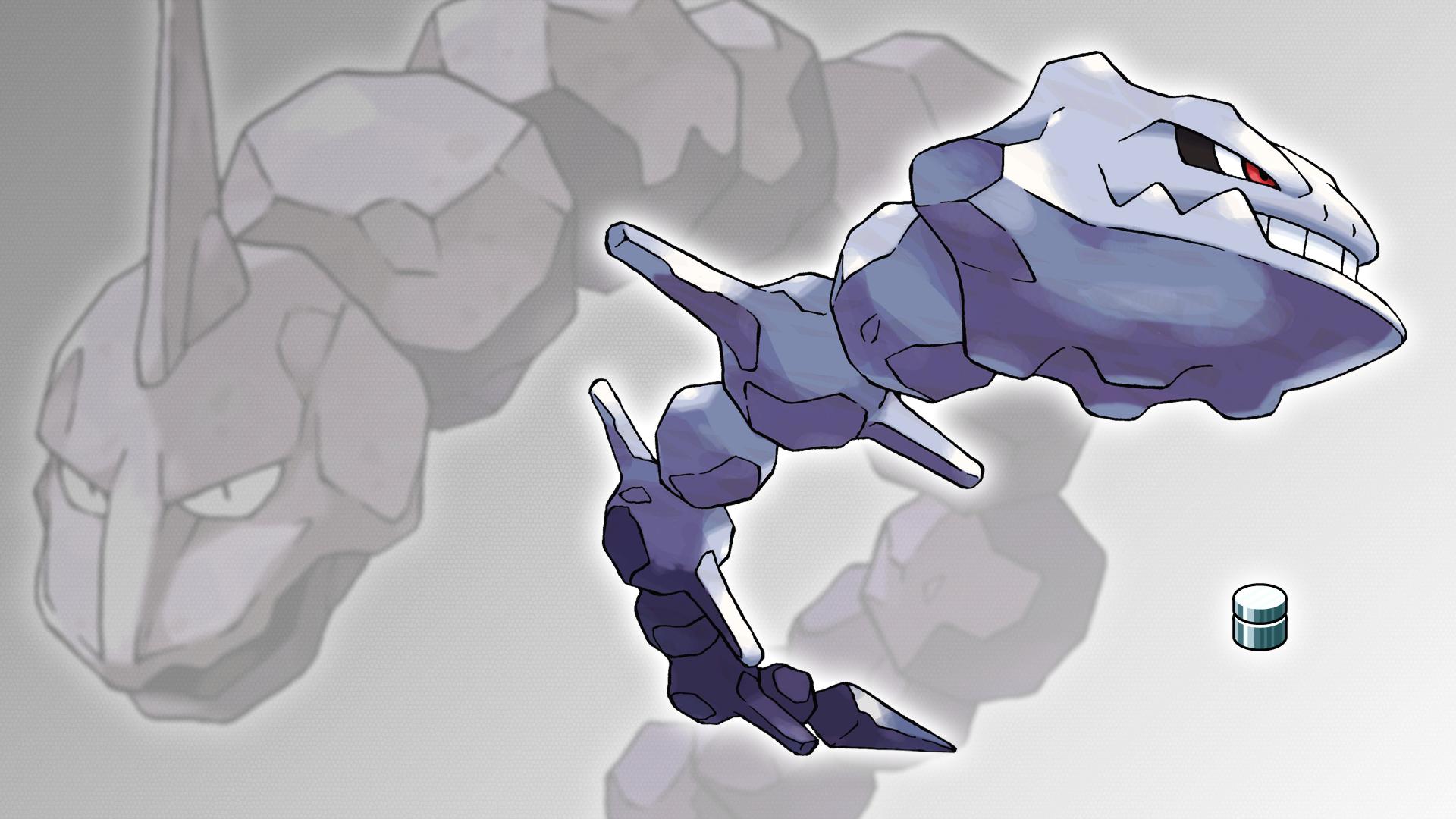 Покемон картинка оникса