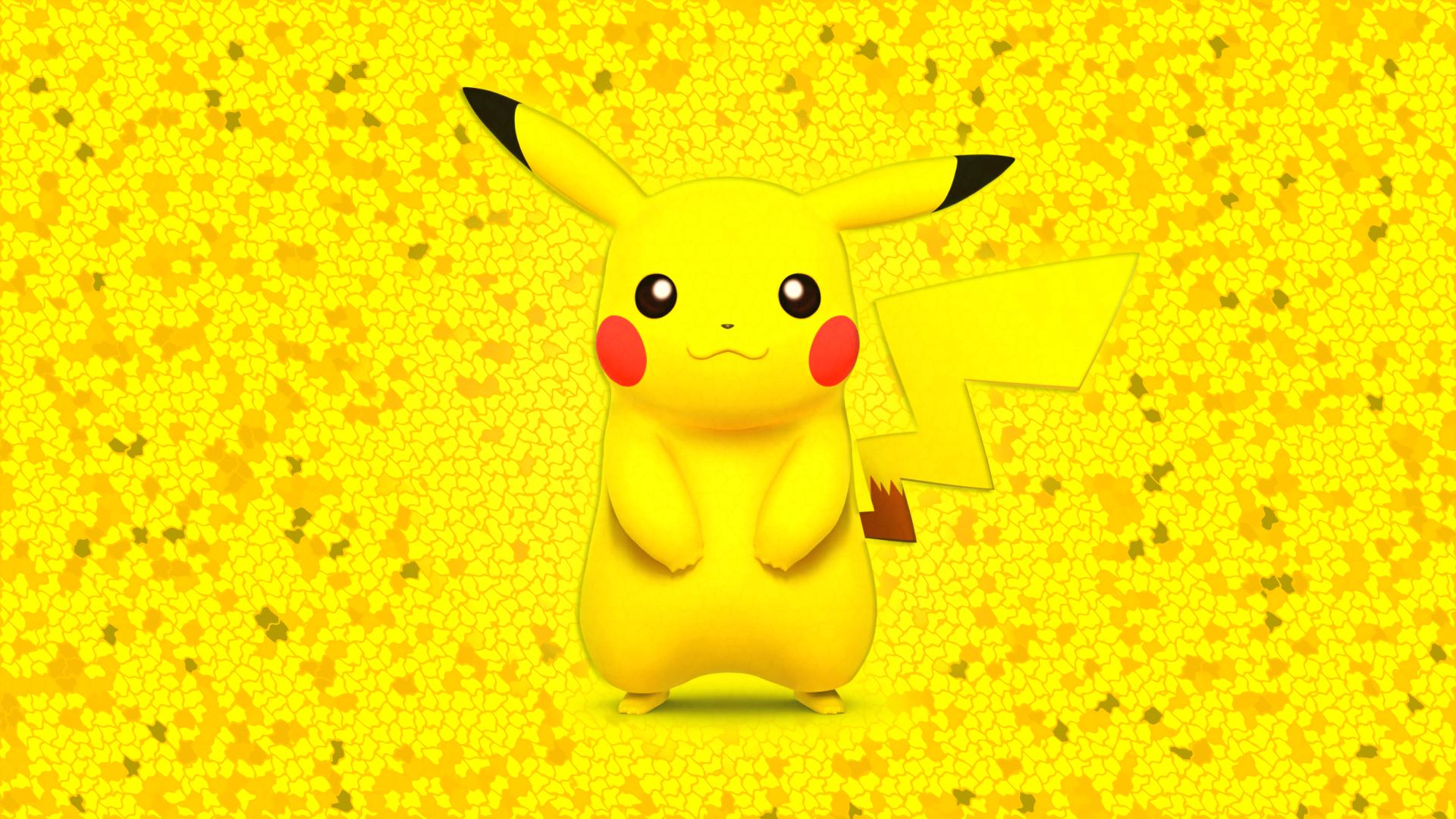 Pikachu Wallpaper  V2  by GlenchPikachu Face Wallpaper