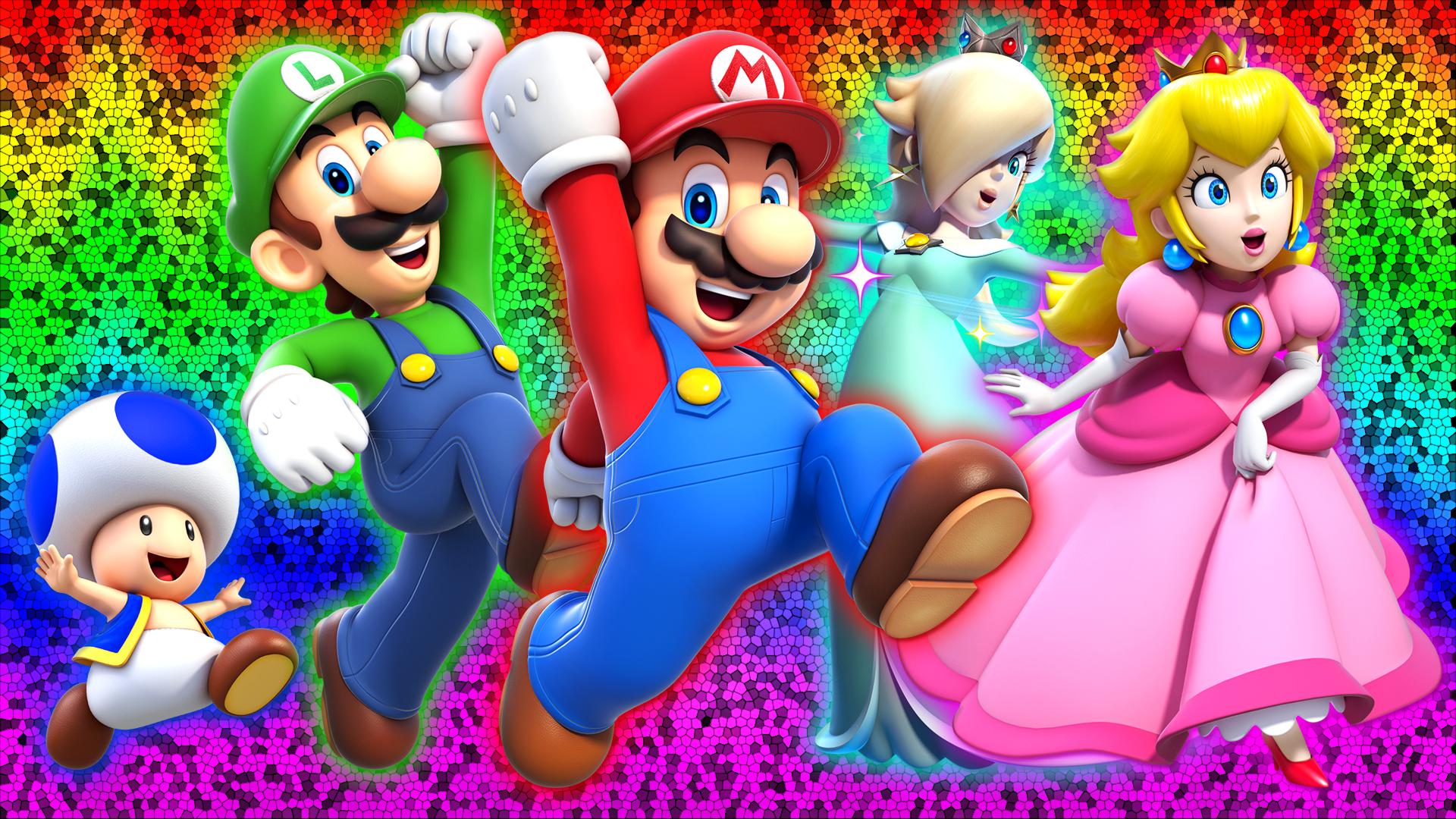 Super Mario 3D World Wallpaper by Glench on DeviantArt