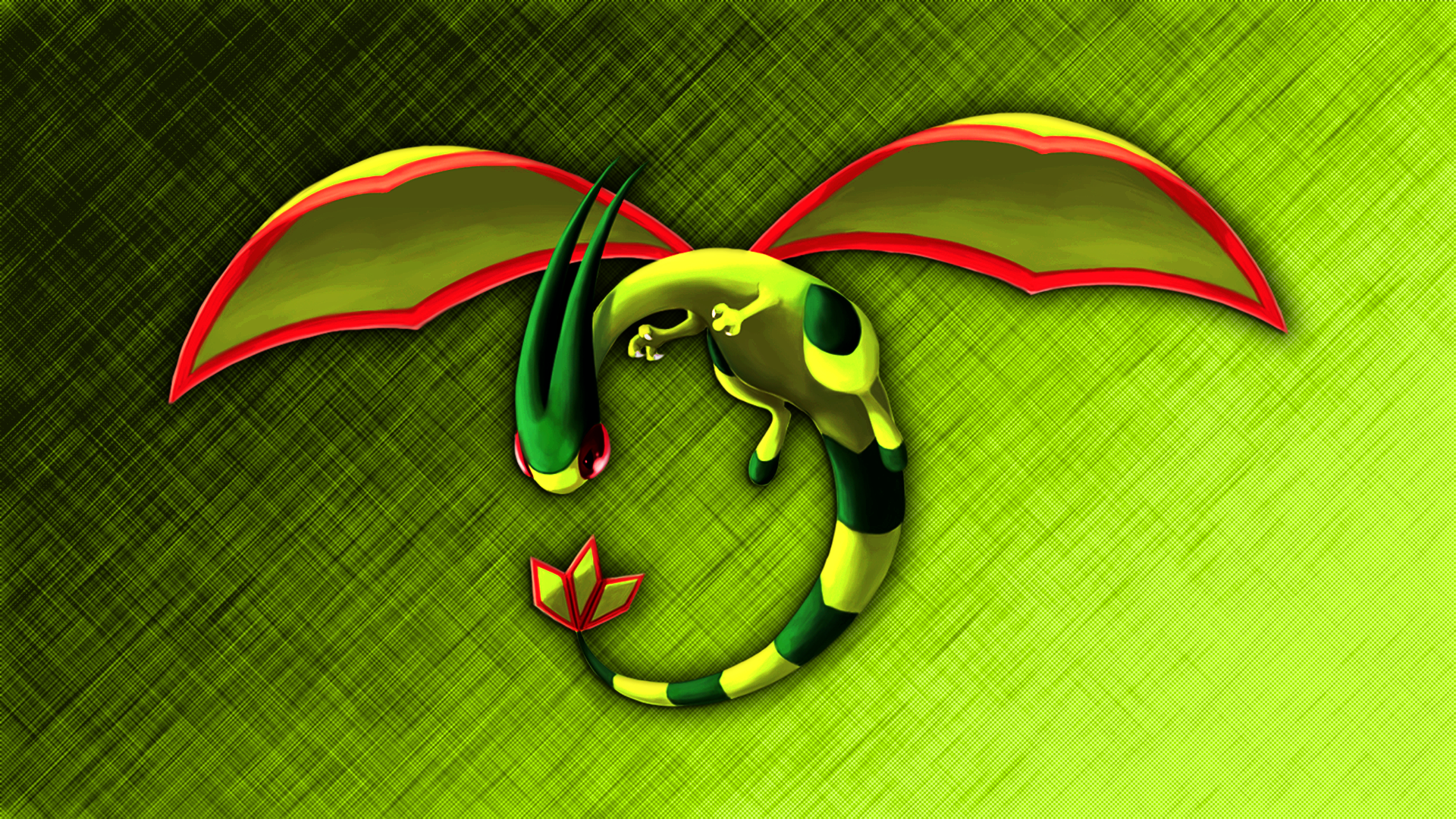 Flygon Wallpaper by Glench on DeviantArt