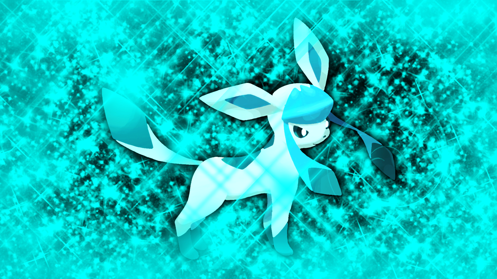 Glaceon Wallpaper by Glench on DeviantArt