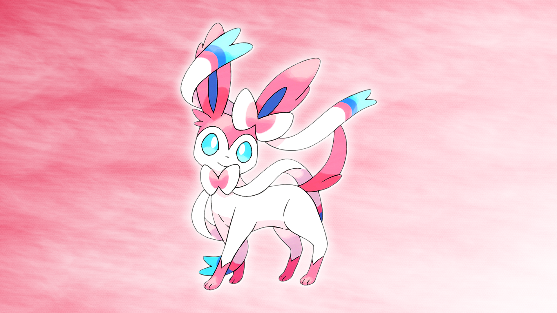 Sylveon Wallpaper by Glench on DeviantArt