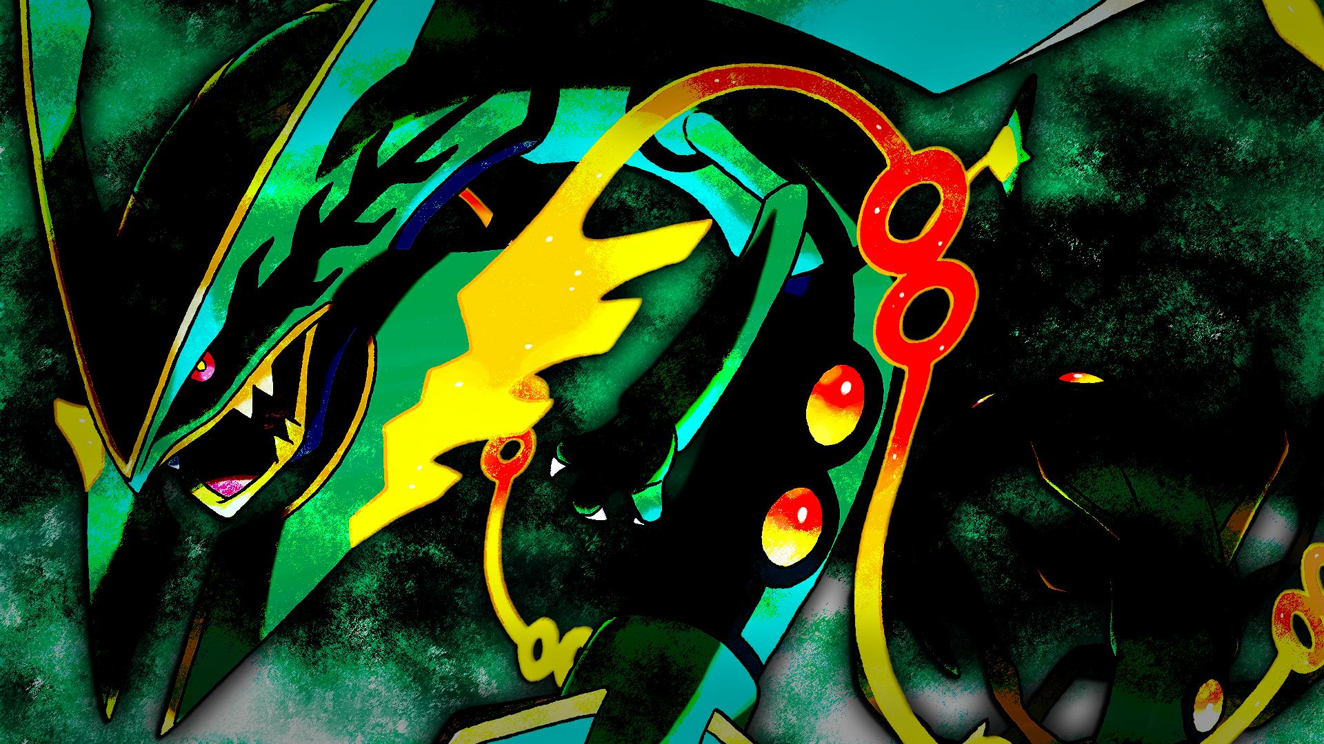 Mega Rayquaza Wallpaper 2 By Glench On DeviantArt