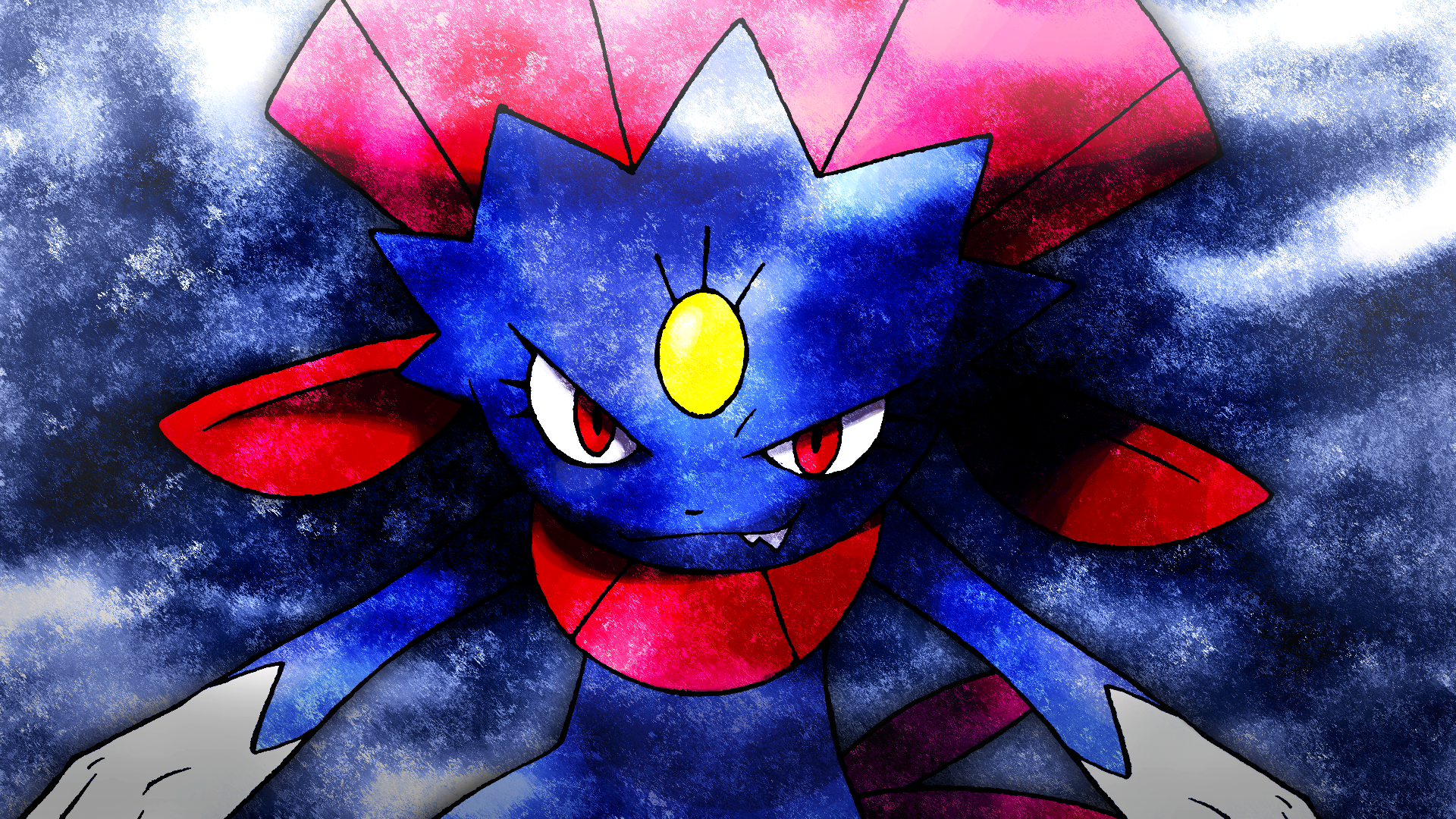 Weavile Wallpaper 498423162