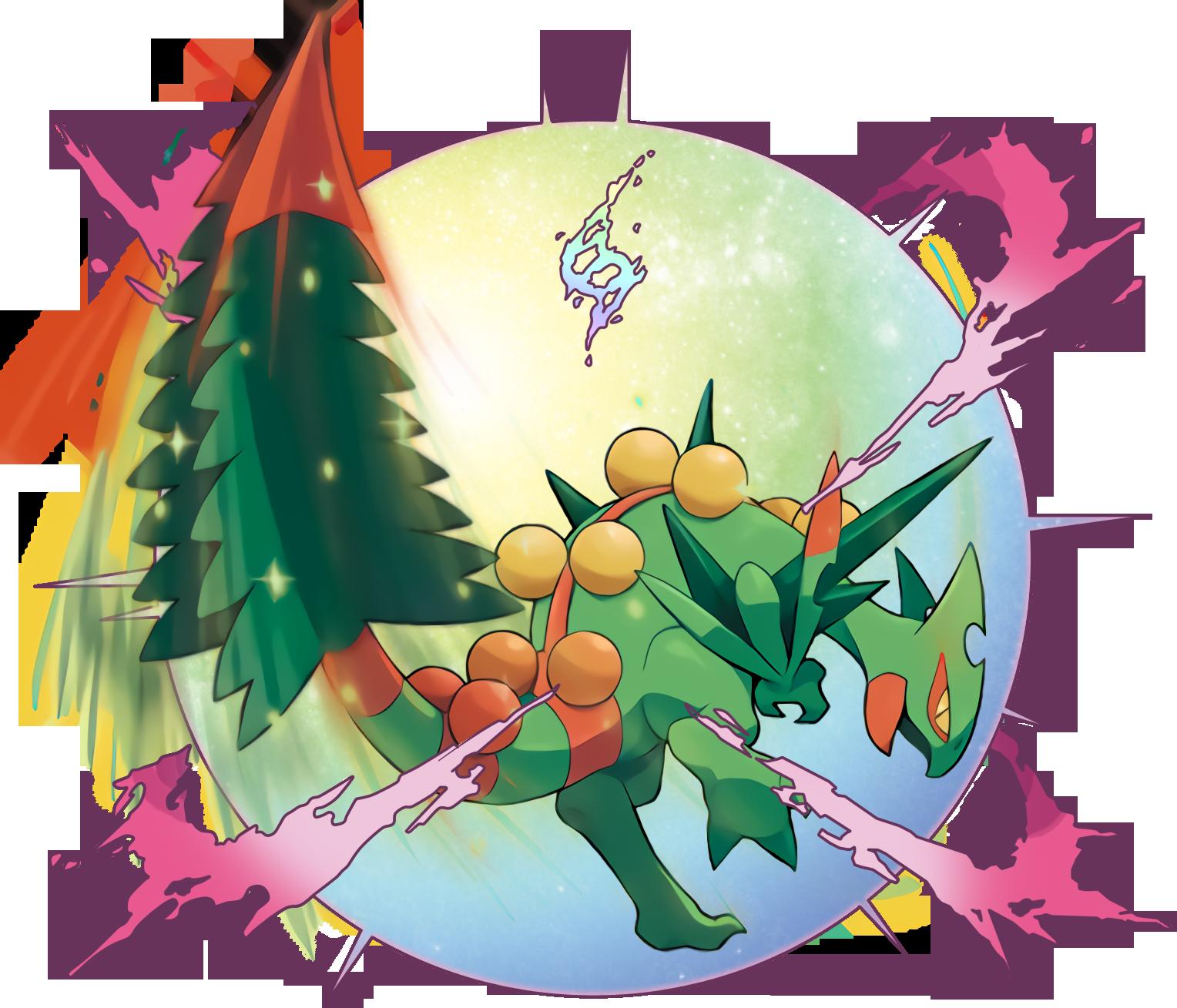 Pokemon Sceptile Mega Evolution