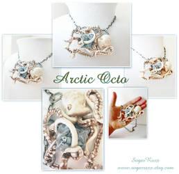 Arctic Octo showpiece necklace by SugarRoxx