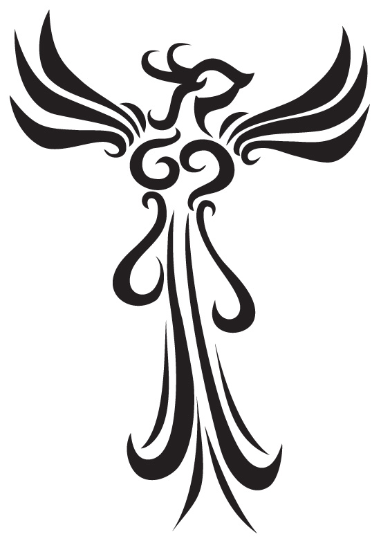 phoenix tattoo design by stsung on deviantart. Black Bedroom Furniture Sets. Home Design Ideas