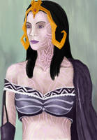 Liliana (painting exercise WIP) by STsung
