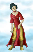 Scrap no. 11 - Chinese  lady by STsung