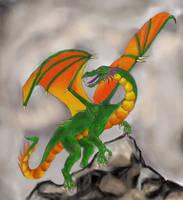 Shivan Dragon by STsung