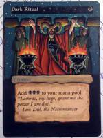 Dark Ritual alter by STsung
