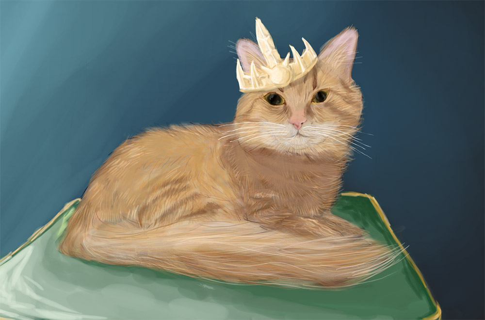 Cat the Monarch by STsung