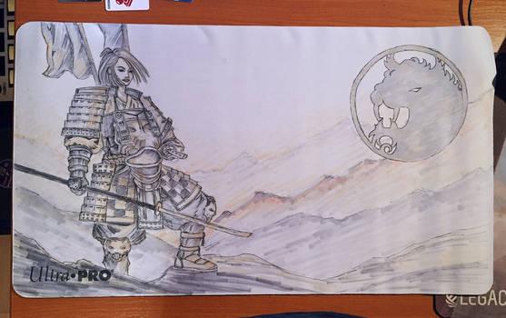 Akodo Dairuko playmat (Legend of the Five Rings)
