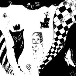 Black-White by kutzuno