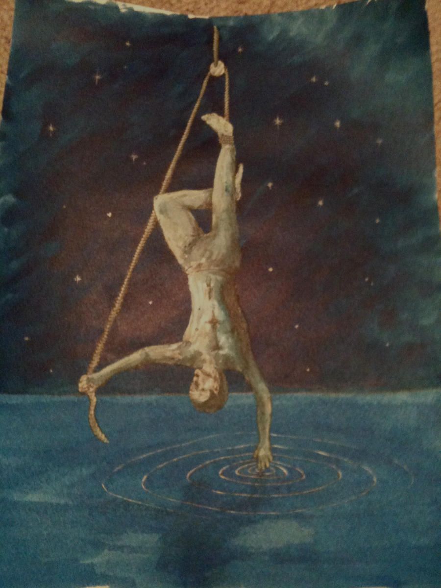 The Hanged Man Predictive Tarot Card Meanings: Hanged Man Tarot Card By Spudsonfire On DeviantArt