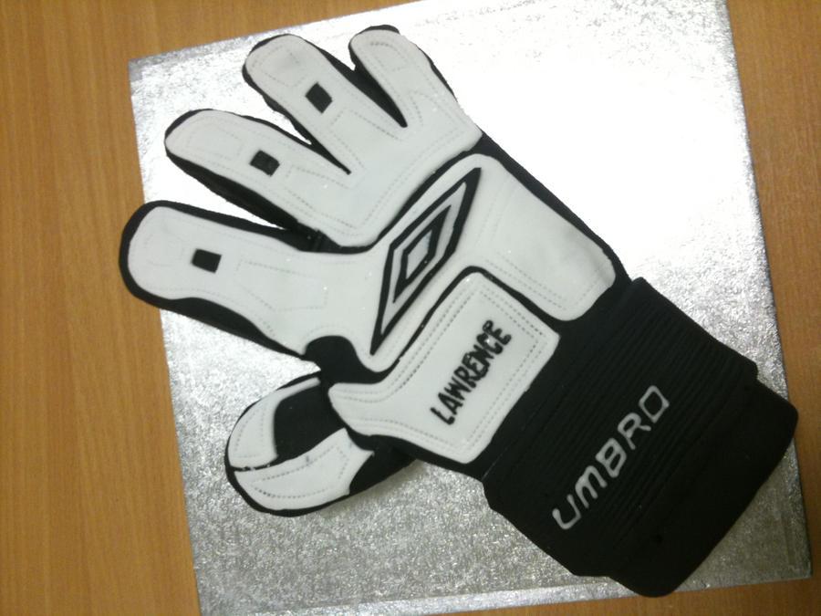 Soccer Goalie Cake