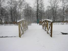 snow bridge 01 by malicia-stock