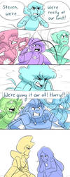 SU: The Battle Outside by Sangled