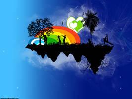 Fantasy   island by Star-M