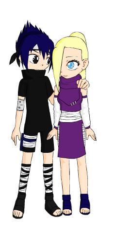 Sasuke uchiha and Ino yamanaka by Envy5h on DeviantArt  Sasuke uchiha a...