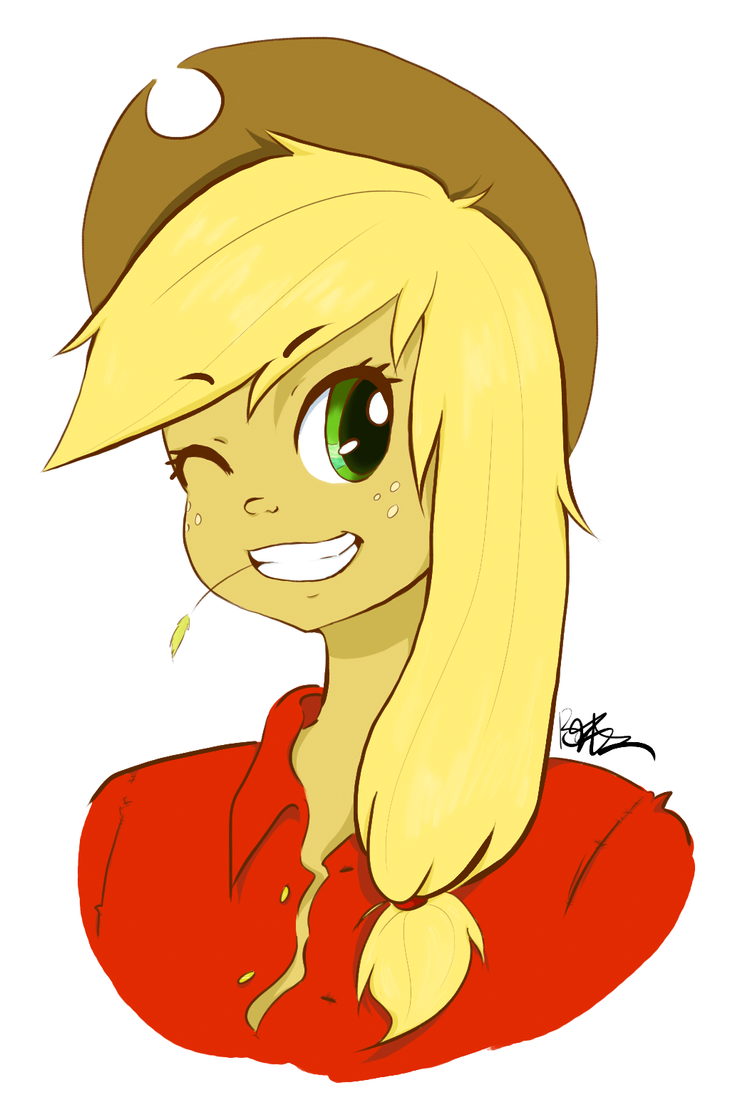 Howdy there! I'm AppleJack by BunnyBonNaru