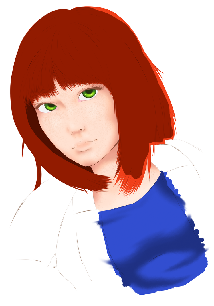 Gingergirl WIP by BunnyBonNaru