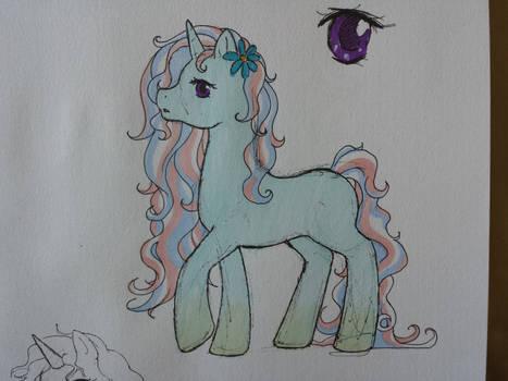 cutie markless pony
