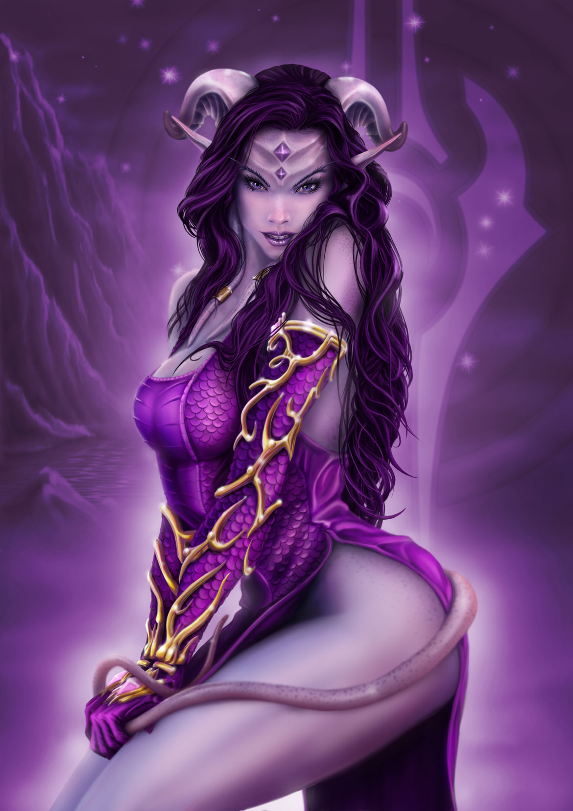 female draenei