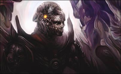 Cyborg Warrior by KellyGFX