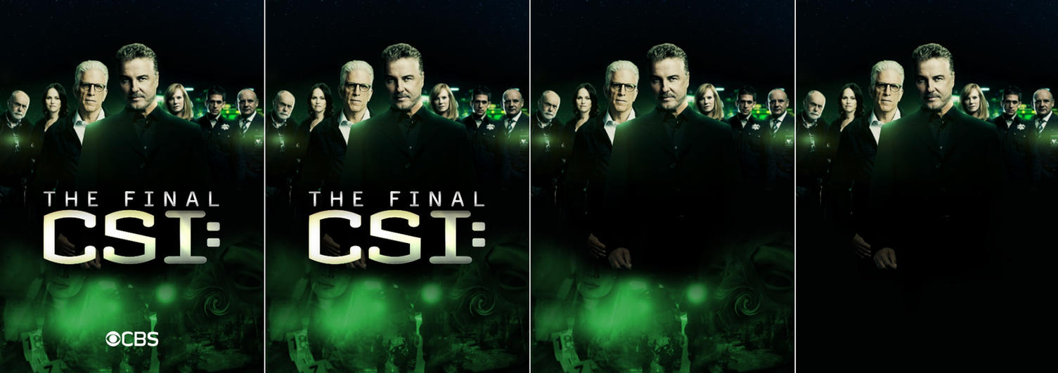 All versions of: The Final CSI poster by idontcare24