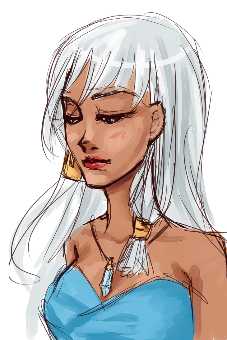 15 min Kida sketch by kittenangel116