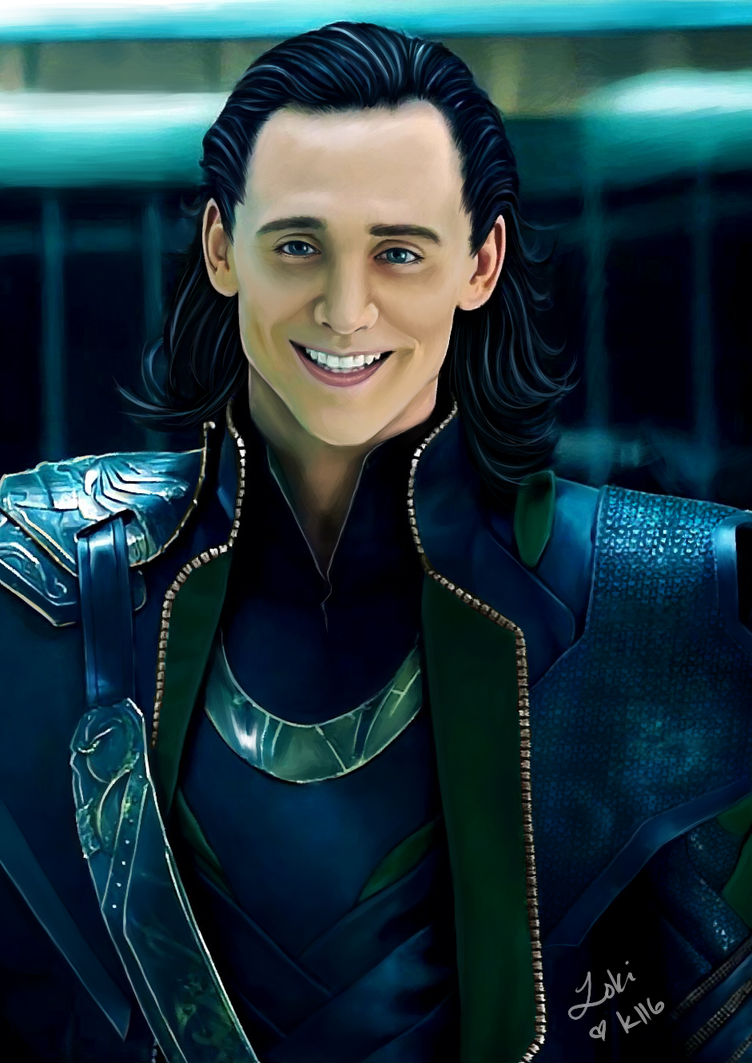 Loki's Smile by kittenangel116 on DeviantArt