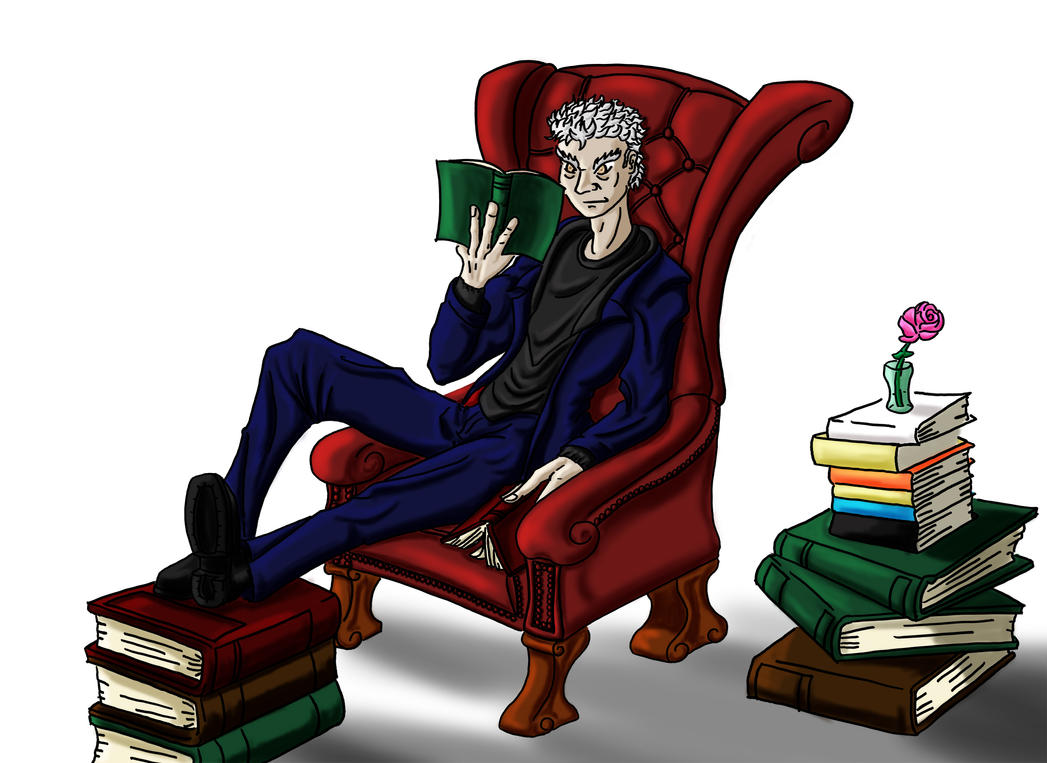 Doctor Reading color by Demonh8