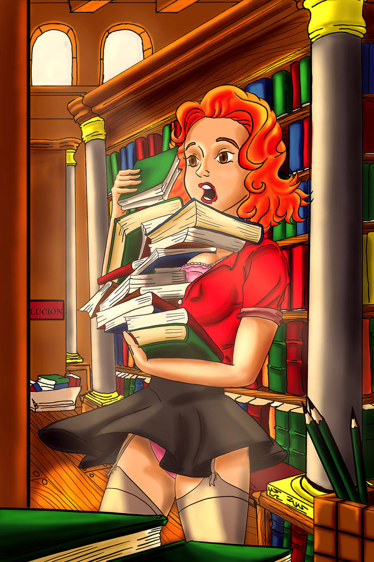 Pinup Biblio 002 by Demonh8