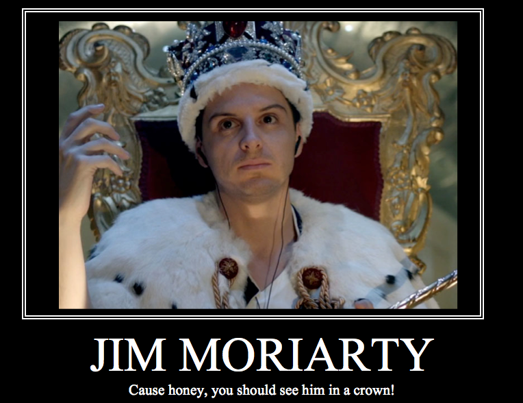 Jim Moriarty by BlindDevotion