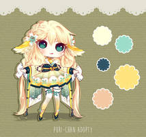 [CLOSED TY] Adoptable Auction 33 - Kimonomimi by Puripurr