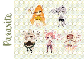 [CLOSED TY] Adoptable AUCTION 41 - PARASITE by Puripurr