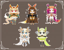 [CLOSED] Adoptable 136 - FRAGILE AUCTION by Puripurr