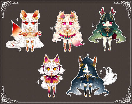 [CLOSED] Adoptable 201 - FRAGILE SET PRICE
