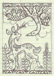 Scribblism: Yellowbook 12 by quexthemyuu