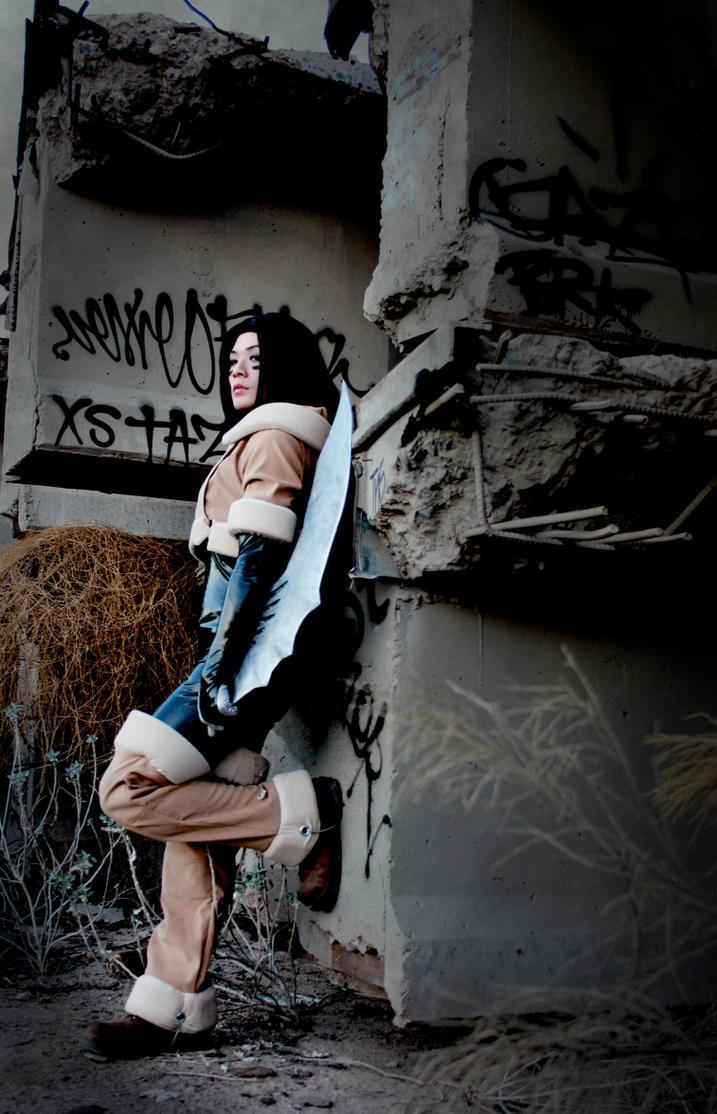 Battle Angel Alita by electric-lady