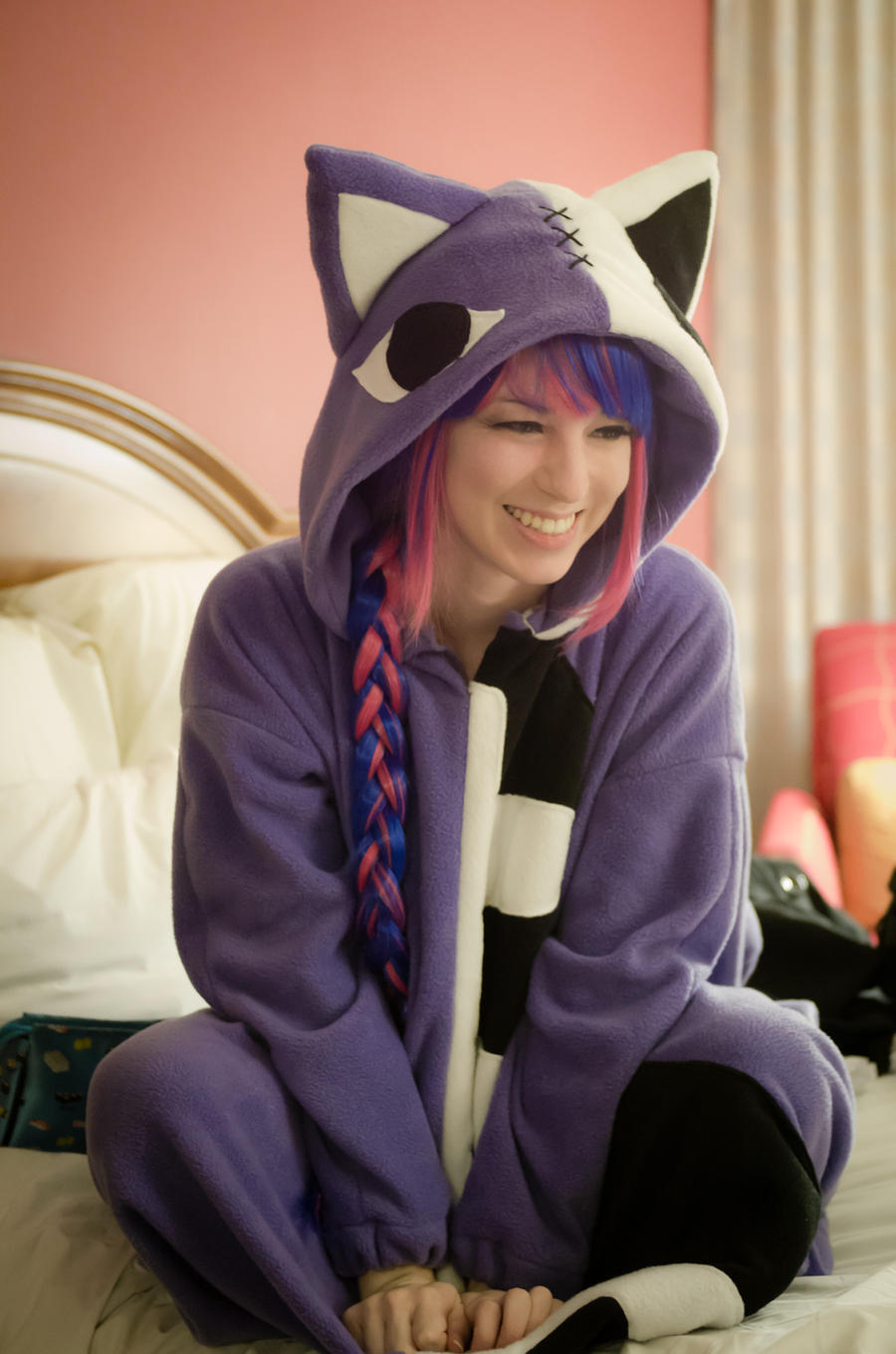 Honeneko Kigurumi by electric-lady