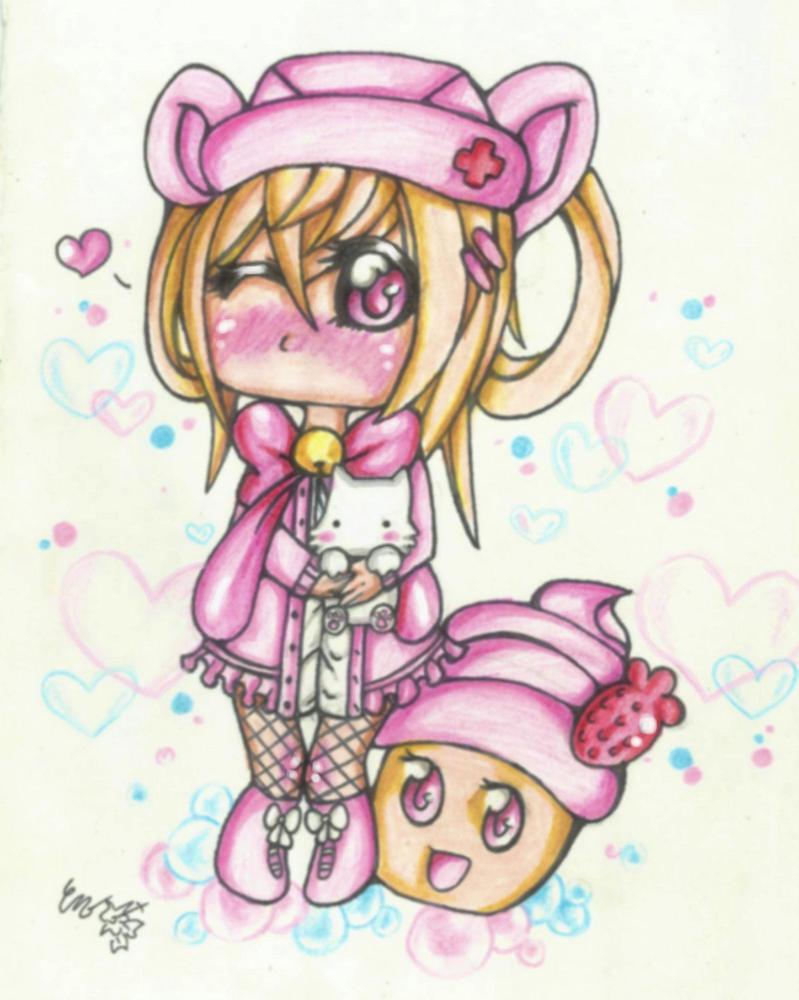 Cupcake Girl by CUTE-ChibiMONSTERZ on DeviantArt