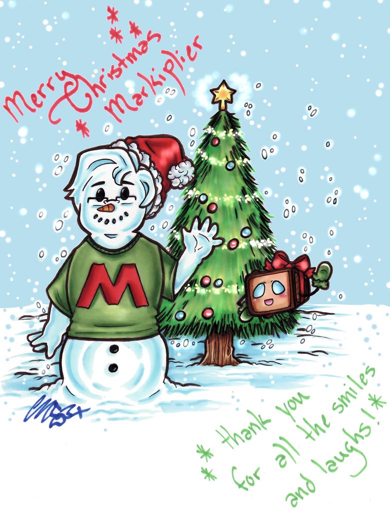Christmas Card for Markiplier by CUTE-ChibiMONSTERZ on DeviantArt