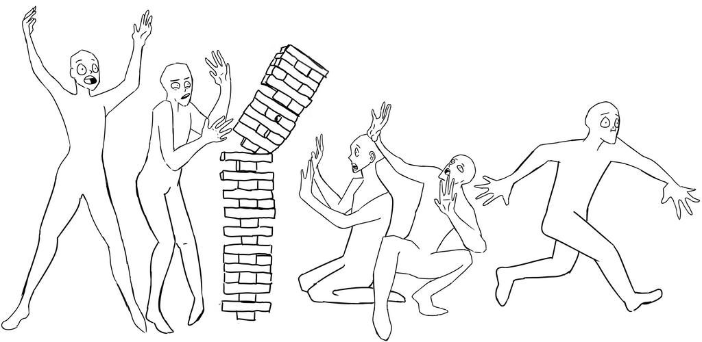 Draw The Squad Jenga by LilNib