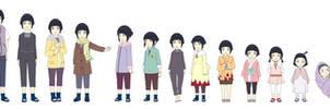 Hinata Hyuuga Outfit Color Child