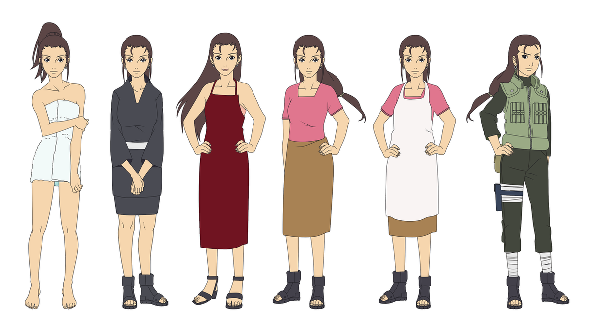 Yoshino nara outfit color by sunakisabakuno on deviantart