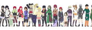 My Naruto children Color