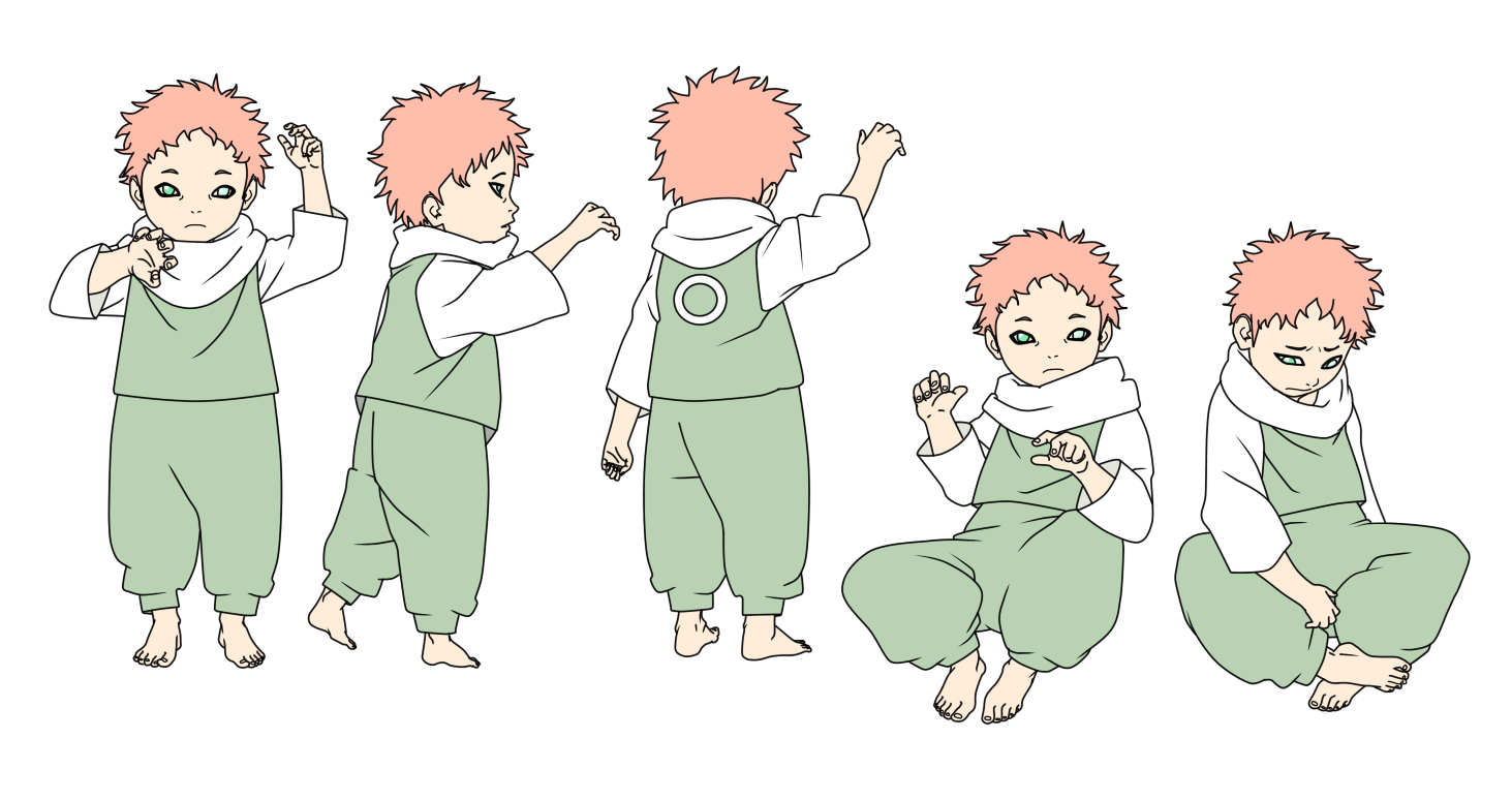 riku haruno gxs child color by sunakisabakuno on deviantart